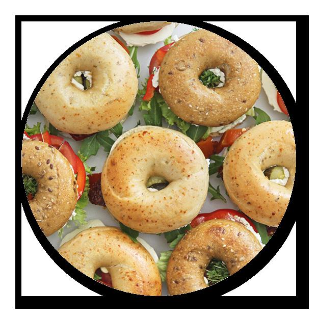 Sandwich-Box 10er veggie
