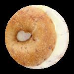 Schmear Bagel – mit Butter