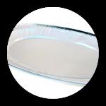 Alu-Bageltablett (für 6 – 10 Stück)