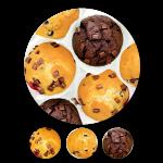 9er Gourmet-Muffins